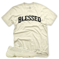New BW BLESSED T Shirt for Adidas Yeezy 500 Super Moon Yellow Desert Rat