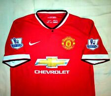2014/2015 Nike Manchester United Home Shirt Jersey MAN UTD *Large Mens* MUFC