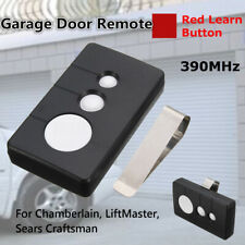 390MHz changeable Garage Door Remote Opener For Sears Chamberlain LiftMaster