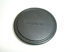 Konica Plastic Lens Cap, slip on, 46mm, vintage #2856