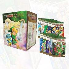 The Legend of Zelda Box Set 1-10 Manga Akira Himekawa - Manga Series and Poster