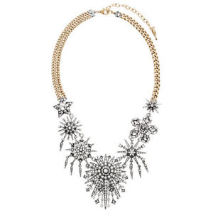 Chloe and Isabel Starburst Statement Necklace - N478SGCL - New -