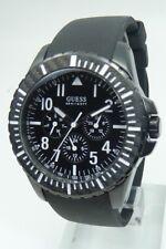 Guess Uhr Uhren Herrenuhr Multifunktion W10261G1 Silikon Armband Markenuhr NEU