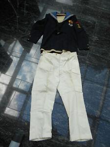 Marine-Uniform / Matrosen-Uniform der K.u.K. Marine aus Österreich mit 2 Orden