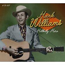 Hank Williams - Hillbilly Hero (86 Track 4CD Box Set, 2002) - Brand New