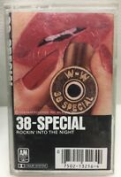 38-Special Rockin Into The Night Cassette Tape CS-3216 Chrome