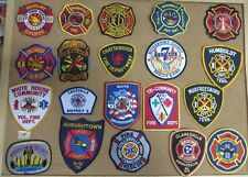 TENNESSEE FIRE/RESCUE DEPARTMENT PATCHES! SET ONE! LOT OF 20!SEE ITEM DESCRIPT