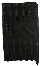 Porta Granaio di Dogon a mil Mali 66x38 cm - Persiane Box- Arte africano - 1048