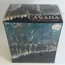 Canada, A People's History - Complete Set (VHS, 2000) - Six Cassettes New Sealed