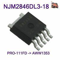 Pioneer NJM2846DL3-18 IC Regulator 1.8V 0.8A PRO-151FD AWW1355 AWW135 TO-252-5