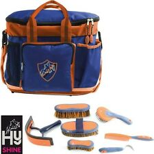HySHINE Complete Pro Grooming Bag – Navy & Orange  **FREE P&P**