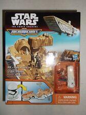 Walt Disney's Star Wars The Force Awakens Micro Machines Stormtrooper Helmet NEW
