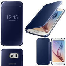 Samsung Galaxy S6 CLEAR VIEW COVER NAVY BLUE EF-ZG920BBEG 24 Hr Post RETAIL BOX