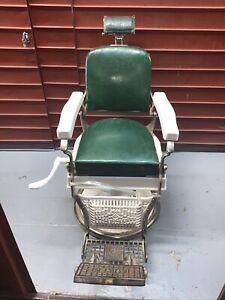 Antique Vintage koken barber chair