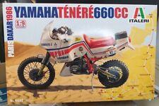 YAMAHA Ténéré 660cc Paris Dakar 1986 ITALERI 1:9 plastic model kit 4642