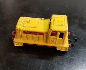 MATCHBOX SUPERFAST NO.24 LESNEY 1978 SHUNTER TRAIN ENGINE METAL BODY