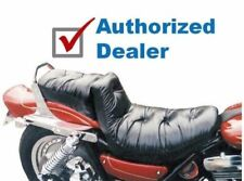 New Mustang Regal Duke Pillow Seat Two Piece 1982-2000 Harley-Davidson FXR 75083