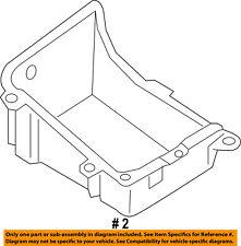 FORD OEM 17-18 F-250 Super Duty 6.7L-V8-Battery Tray Right HC3Z10732A