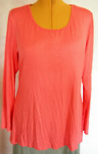 Ladies Womens Casual Orange Long Sleeve Long Tunic Top Millers Size 18