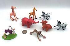 Disney Lion King Lot of 8 ANIMAL FRIENDS Figures Mattel/Hasbro PVC Very Rare!