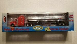 Gearbox Peterbilt Precision Amoco Tanker Die Cast Metal Truck NEW FREE SHIPPING