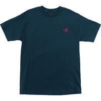 Santa Cruz Pusher T-Shirt - Size: X-LARGE Harbor Blue