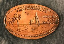 Bass Pro Shop Sailboat Ft. Myers Fl Pressed Elongated Penny
