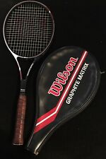 Wilson Midsized Graphite Matrix Tennis Racquet Racket 4 1/2 (L4)