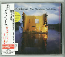 THE CRANBERRIES When you're gone Free to decide CD JAPAN NEW PHCR-4765 s5805