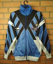 Inter Milan Internazionale Jacket 80`s Vintage Retro M Soccer Uhlsport Football