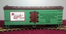 USA TRAINS R 16110 TIVOLI BEER REFRIGERATOR CAR - G SCALE REFER CAR-TIVOLI BEER