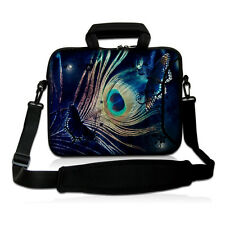 """Fancy Feather Laptop Notebook Shoulder Bag Case Cover For 17"""" 17.3"""" Toshiba Sony"""