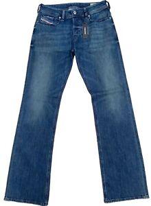 Men's Diesel Zatiny Jeans Regular Bootcut CN025 New 30 x 34 New