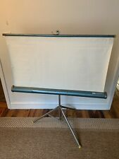 """Vintage  Radiant picture master Movie Projector Screen 40"""" x 40"""" - Home Movie"""