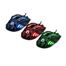 Gaming Mouse USB Optical 5500 Dpi 6 Buttons Wired Mice for Gamer Computer 7 LED