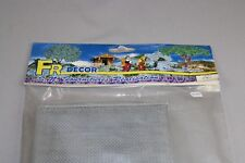 ZC1425 FR Decor 190 Maquette décor Ho Support relief toile métallique 1*0,5 m