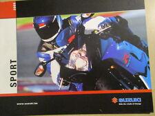 CATALOGUE MOTO : SUZUKI : SPORT 2005