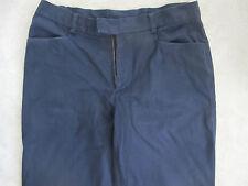 STANBRIDGE pantalon chino coton bleu marine De Fursac Taille 40 W31 L31