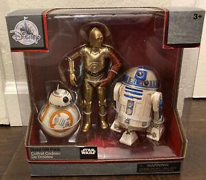 Disney Elite Series Droid Gift Pack Diecast Figures C-3PO BB-8 R2-D2 - NEW