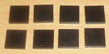 Lego 8 Fliesen 2 x 2 in schwarz