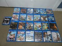 NICE SELECTION Sony PS Vita Games Complete CIB - U Choose One PsVita Playstation