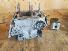 1982 YAMAHA YZ 125 CYLINDER AND PISTON ASSEMBLY VINTAGE MX  FREE SHIPPING US+CAN