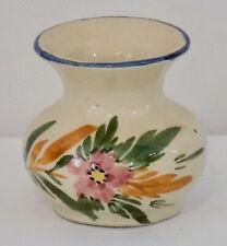 Pottery Potterie de Driehoek Huizen Small Vase Holland Dutch