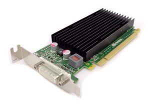NVIDIA QUADRO NVS 300 PCI-E 16X LOW PROFILE 512MB DUAL MONITOR GRAPHICS CARD HP