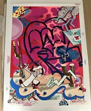 RARE SICKBOY YOU'RE AN UPLIFT HAND FINISHED AP SIGNED PRINT LTD /10 + DFACE