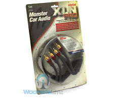 MONSTER XLN PRO 2-CHANNEL 1M 3.3 FEET HIGH PERFORMANCE INTERCONNECT RCA CABLE