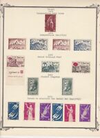 israel stamps on page ref 16545