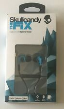Skullcandy Fix Supreme Sound Hi-Definition Hot Blue and Black Earbuds - New