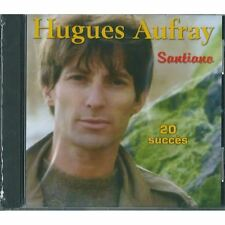 29357//HUGUES AUFRAY SANTIANO BEST OF 20 TITRES D'ANTHOLOGIE CD NEUF BOITIER FEN