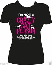 Cotton Blend Cats T-Shirts for Women